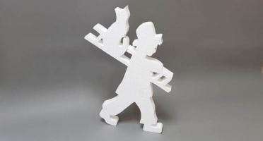 Фигура из пенопласта Трубочист