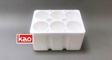 Упаковка коробка из пенопласта пенополистирола для бутылок
