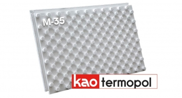 Маты для теплого водяного пола Термопол КАО М-35