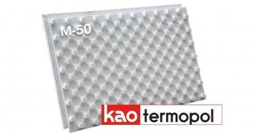 Маты КАО под теплый водяной пол Термопол М-50