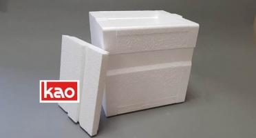 Упаковка термобокс из пенопласта пенополистирола с крышкой производство
