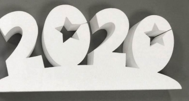 Цифры из пенопласта 2020