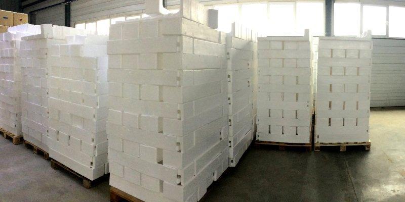 Производство упаковки из пенопласта в Краснодаре